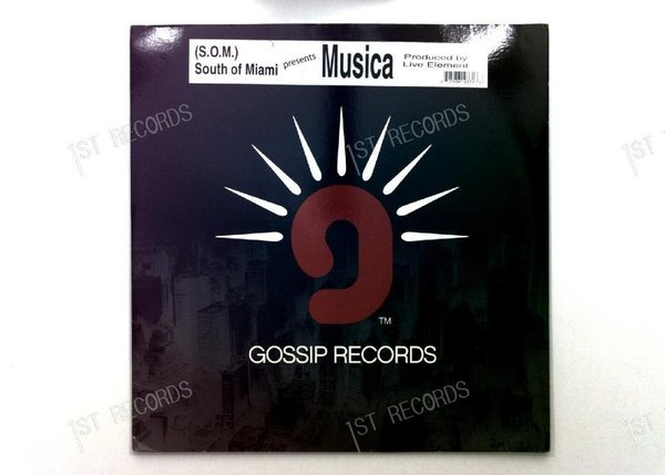 South Of Miami - Musica US Maxi 2001 (VG+/VG-)