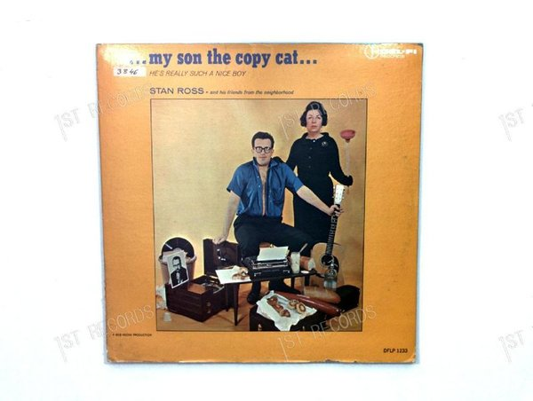 Stan Ross - My Son The Copy Cat US LP 1963 (VG/VG)