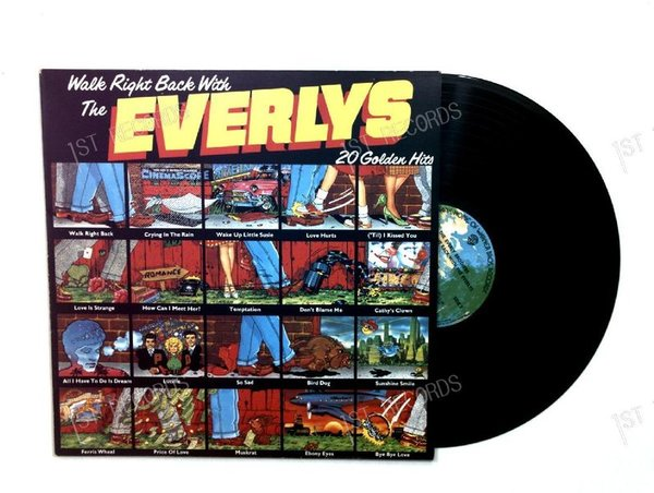 The Everlys - Walk Right Back With - 20 Golden Hits Europe LP (VG+/VG+)