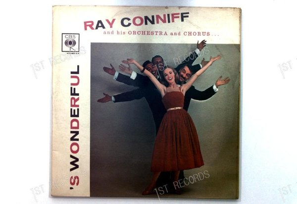 Ray Conniff - 'S Wonderful! GER LP 1956 FOC (VG+/VG-)