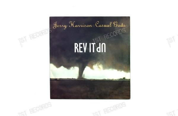 Jerry Harrison : Casual Gods - Rev It Up Netherlands 7in 1988 (VG+/VG+)