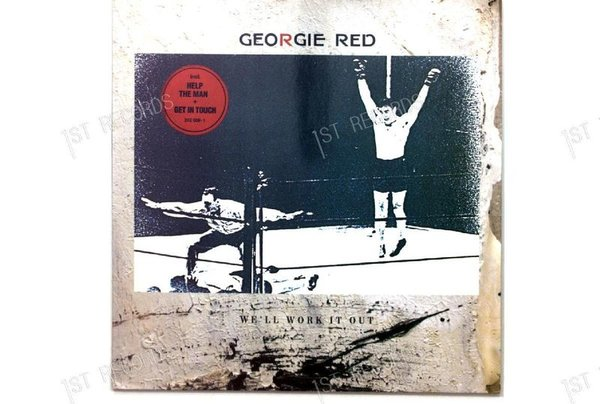 Georgie Red - We'll Work It Out GER LP 1986 (VG+/VG+)