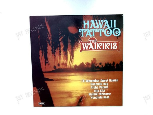 The Waikikis - Hawaii Tattoo GER LP (VG-/VG)