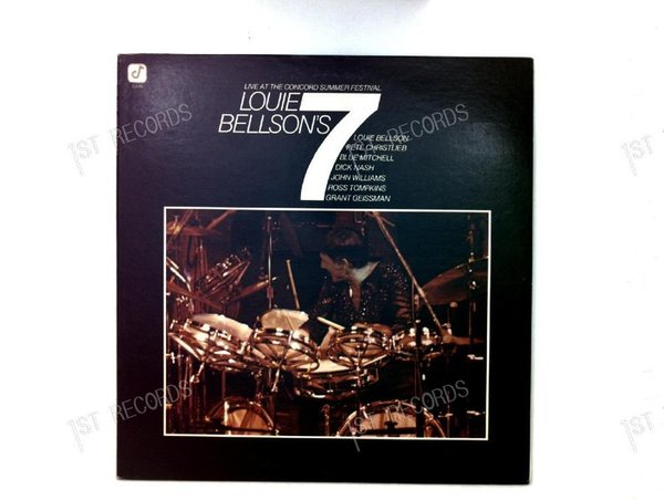 Louie Bellson-Louie Bellson's 7-Live At The Concord Summer FestivalUSLP1976 (VG+/VG+)