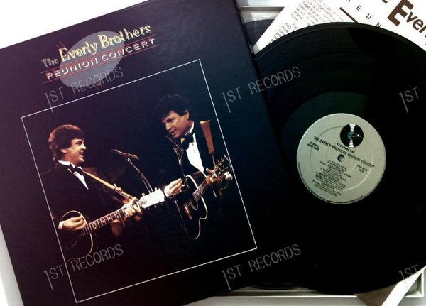 The Everly Brothers - Reunion Concert US 3LP 1987 + Insert (VG+/VG+)