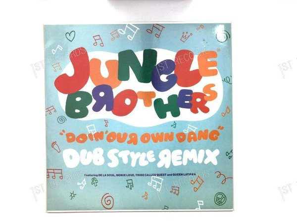 Jungle Brothers - Doin' Our Own Dang (Dub Style Remix) UK Maxi 1990 (VG/VG+)