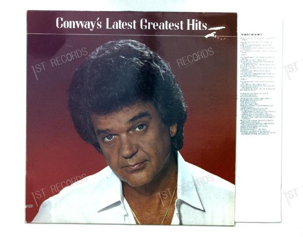 Conway Twitty - Conway´s Latest Greatest Hits GER LP 1984 (VG+/VG)