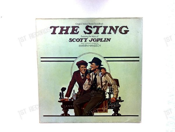 Marvin Hamlisch - The Sting (Original Motion Picture Soundtrack) Europe LP (VG+/VG+)