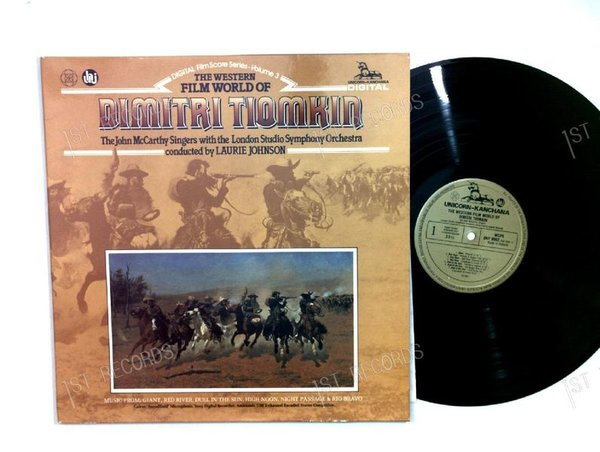 Dimitri Tiomkin - The Western Film World Of Dimitri Tiomkin NL LP FOC (VG+/VG+)