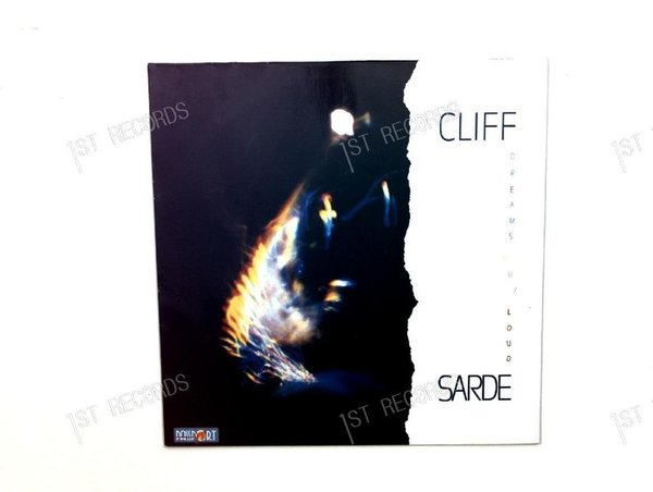 Cliff Sarde - Dreams Out Loud GER LP 1987 (VG+/VG+)