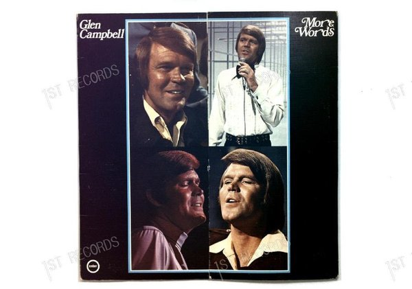 Glen Campbell - More Words UK LP 1975 FOC (VG+/VG)