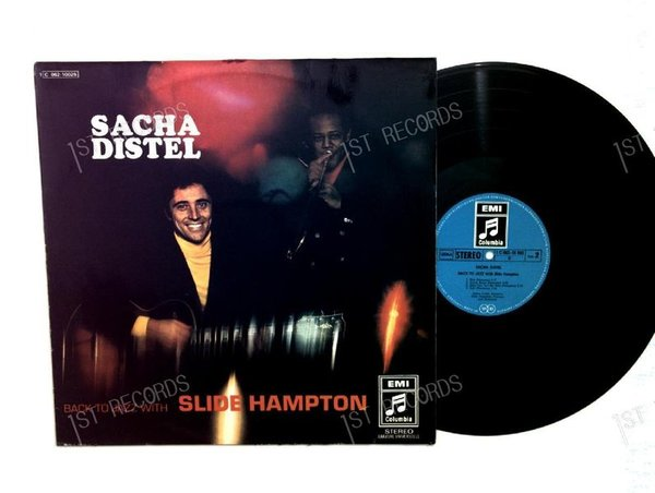 Sacha Distel With Slide Hampton - Back To Jazz GER LP1969 (VG+/VG)