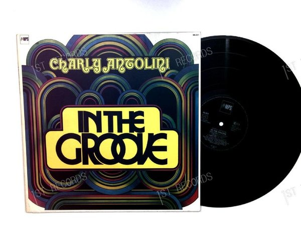 Charly Antolini - In The Groove GER LP (VG+/VG+)