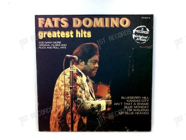 Fats Domino - Blueberry Hill - Greatest Hits 3LP (VG+/VG)