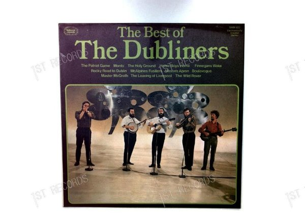 The Dubliners - The Best Of The Dubliners UK LP 1974 (VG/VG+)
