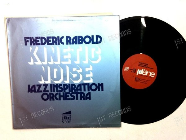 Frederic Rabold & Jazz Inspiration Orchestra - Kinetic Noise GER LP 1975 (VG+/VG)