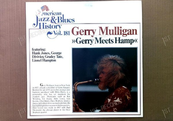 Gerry Mulligan - Gerry Meets Hamp GER LP (VG+/VG)