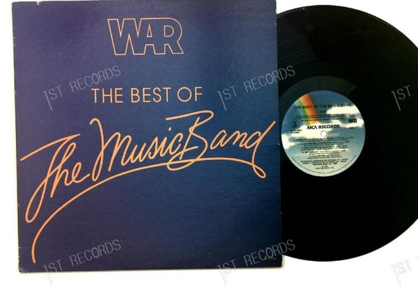 War - The Best Of The Music Band US LP 1982 (VG+/VG+)
