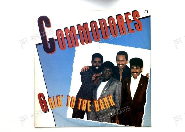 Commodores - Goin' To The Bank GER Maxi 1986 (VG+/VG)
