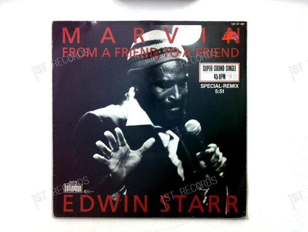 Edwin Starr - Marvin GER Maxi 1984 (VG+/VG)