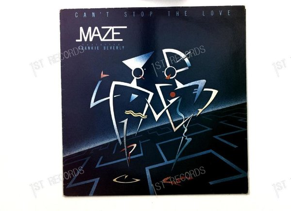 Maze Featuring Frankie Beverly - Can't Stop The Love NL LP 1985 + Innerbag (VG+/VG)