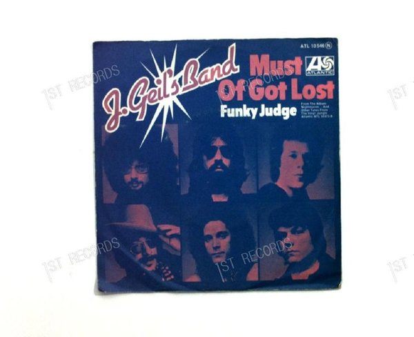 The J. Geils Band - Must Of Got Lost GER 7in 1974 (VG+/VG)