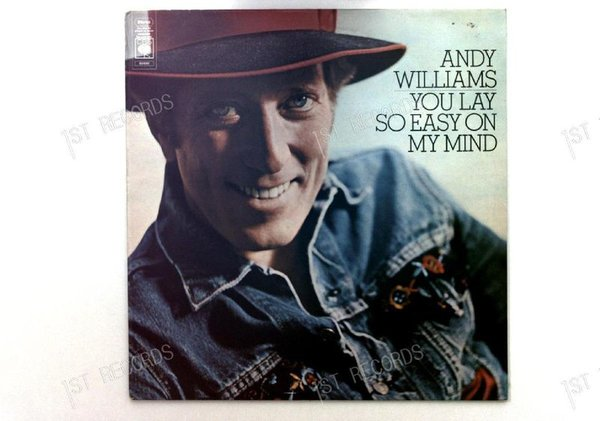 Andy Williams - You Lay So Easy On My Mind UK LP 1974 (VG+/VG+)