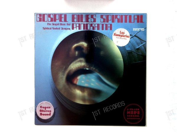 The Gospel Blues & Spiritual Revival Company - Gospel - Blues .. GER LP 1970 (VG+/VG+)