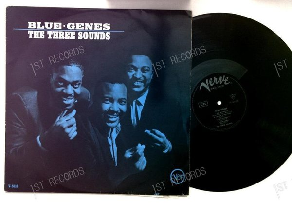 The Three Sounds - Blue Genes GER LP 1962 Verve Mono Jazz (VG+/VG)