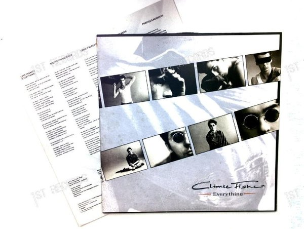 Climie Fisher - Everything Europe LP 1987 + Innerbag (VG+/VG+)