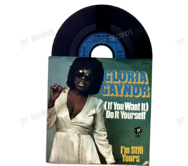 Gloria Gaynor - (If You Want It) Do It Yourself / Walk On By GER 7in 1976 (VG+/VG)