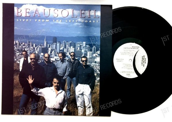Beausoleil - Live From The Left Coast GER LP 1990 (VG+/VG+)