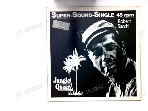 Robert Sacchi - Jungle Queen GER 7in 1982 (VG+/VG+)