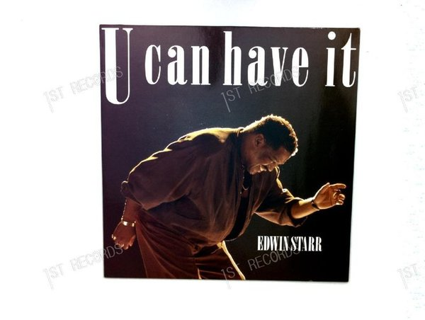 Edwin Starr - U Can Have It Europe LP 1991 (VG+/VG+)