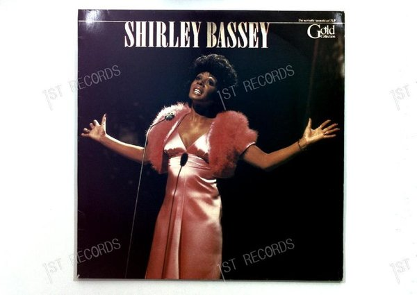 Shirley Bassey - Gold Collection GER 2LP 1979 FOC (VG+/VG)
