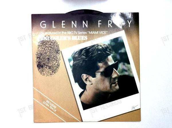 Glenn Frey - Smuggler's Blues UK 7in 1984 (VG+/VG)