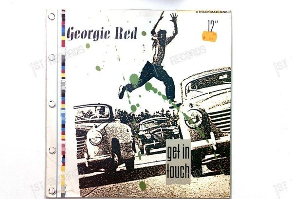 Georgie Red - Get In Touch GER Maxi 1986 (VG+/VG+)