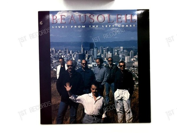 Beausoleil - Live From The Left Coast CAN LP 1989 (VG+/VG+)