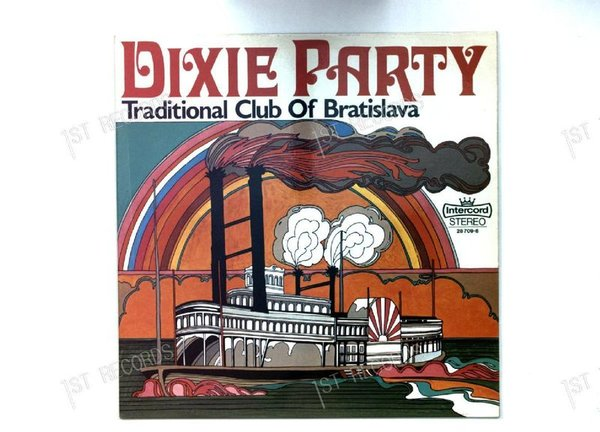 Traditional Club Of Bratislava - Dixie Party GER LP 1970 (VG/VG+)