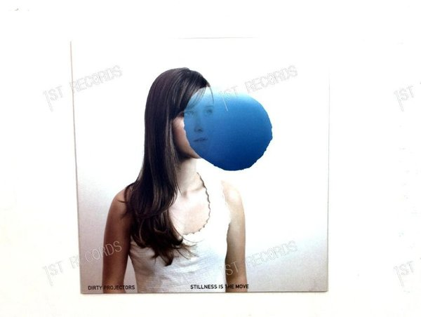 Dirty Projectors - Stillness Is The Move UK Maxi 2009 (VG+/VG+)