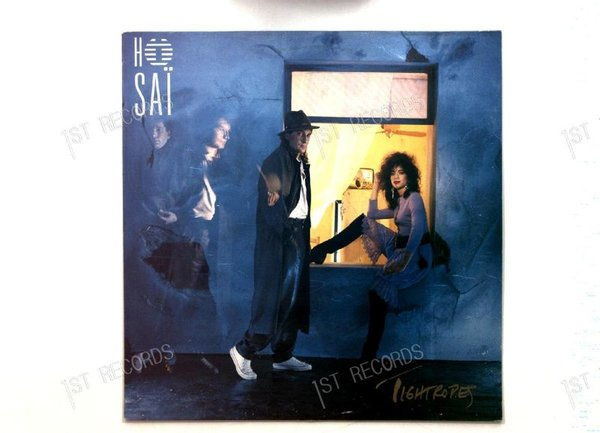 Ho Sai - Tightropes FRA LP 1987 + Innerbag (VG/VG+)