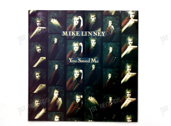 Mike Linney - You Saved Me GER Maxi 1991 (VG/VG+)