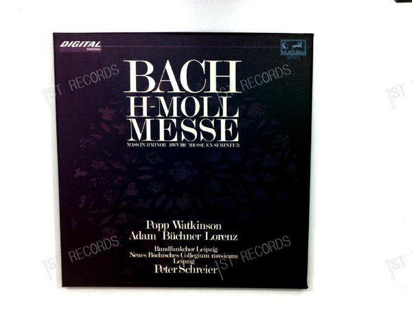 Bach - Bach H-Molle Messe GER 3LP 1982 + Insert (VG+/VG)