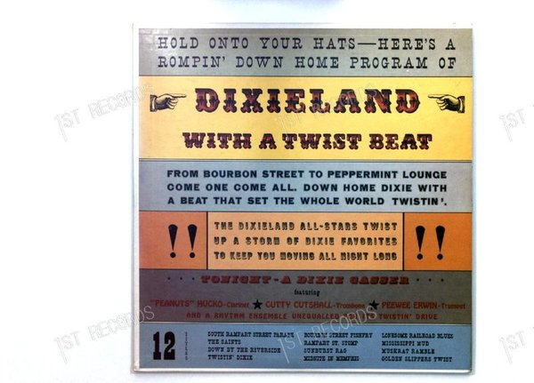 The Dixie All-Stars - Dixieland With A Twist Beat GER LP (VG/VG+)