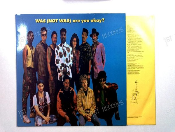 Was (Not Was) - Are You Okay? Europe LP 1990 + Innerbag (VG+/VG+)