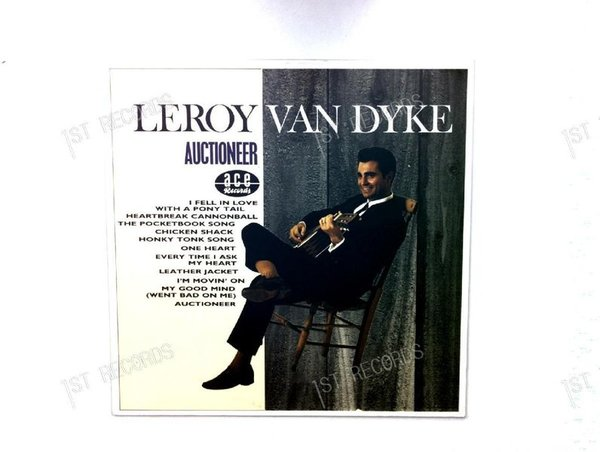 Leroy Van Dyke - Auctioneer Europe LP 1984 (VG+/NM)