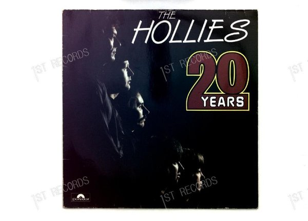 The Hollies - 20 Years GER LP 1984 (VG+/VG)