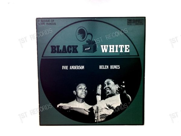 I.Anderson, H.Humes-A Reissue Of Some Famous Black And White Masters DK LP (VG+/VG+)