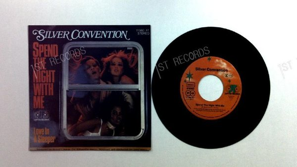 Silver Convention - Spend The Night With Me GER 7in 1978 (NM/NM)