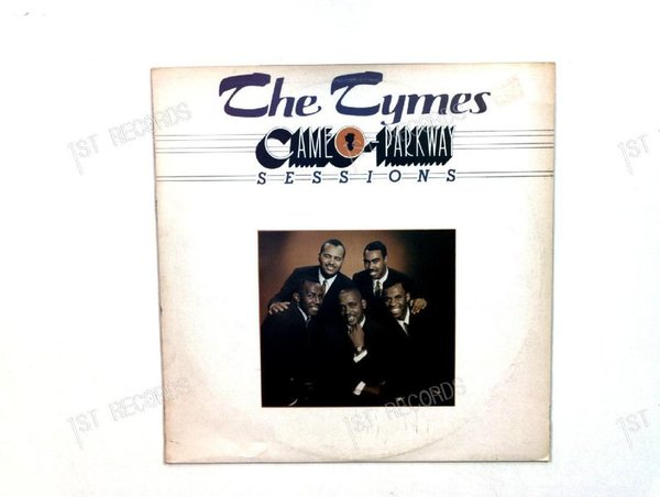 The Tymes - Cameo-Parkway Sessions UK LP 1978 (VG+/VG)